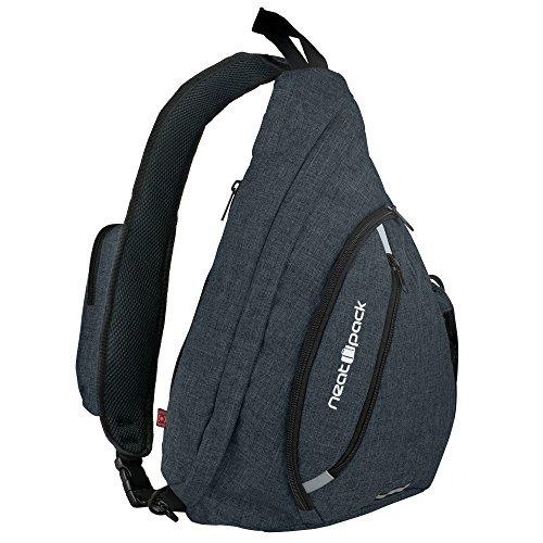 a89eeb59ac9f Nornou Sling Bag Small Shoulder Backpack Crossbody Multipurpose ...