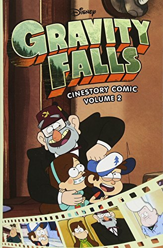 Dipper And Mabel Are Back For The Second Installment Of Gravity Falls Cinestory Comic From Joe Books Disney Press