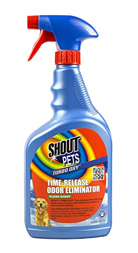 Shout Pets Turbo Oxy Time Release Odor Eliminator 32 Oz