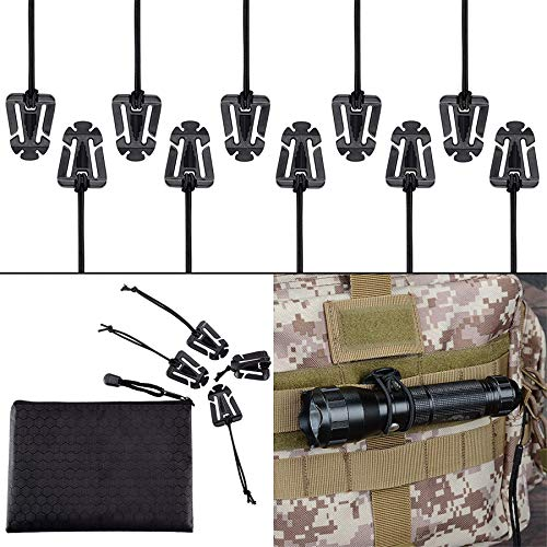 XTACER Tactical Multipurpose D-Ring Locking Hanging Hook